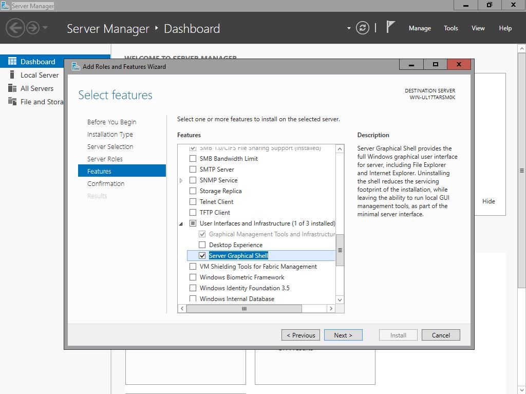 How to install Windows Server 2016 with GUI ? – www get-cmd com