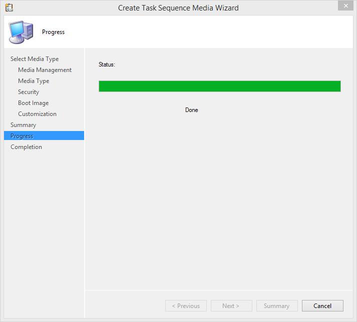 SCCM 2012R2 – Creating Task Sequence bootable Media – www get-cmd com