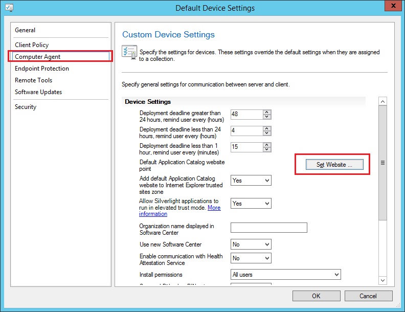 SCCM2012: How to change the catalog application URL? – www