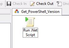 SCORCH: Run  NET Script With The Latest PowerShell Version