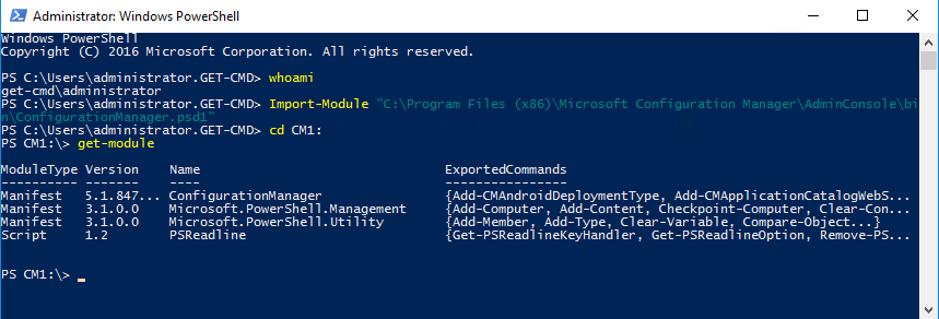 Running SCCM PowerShell Scripts as a Service Account – www