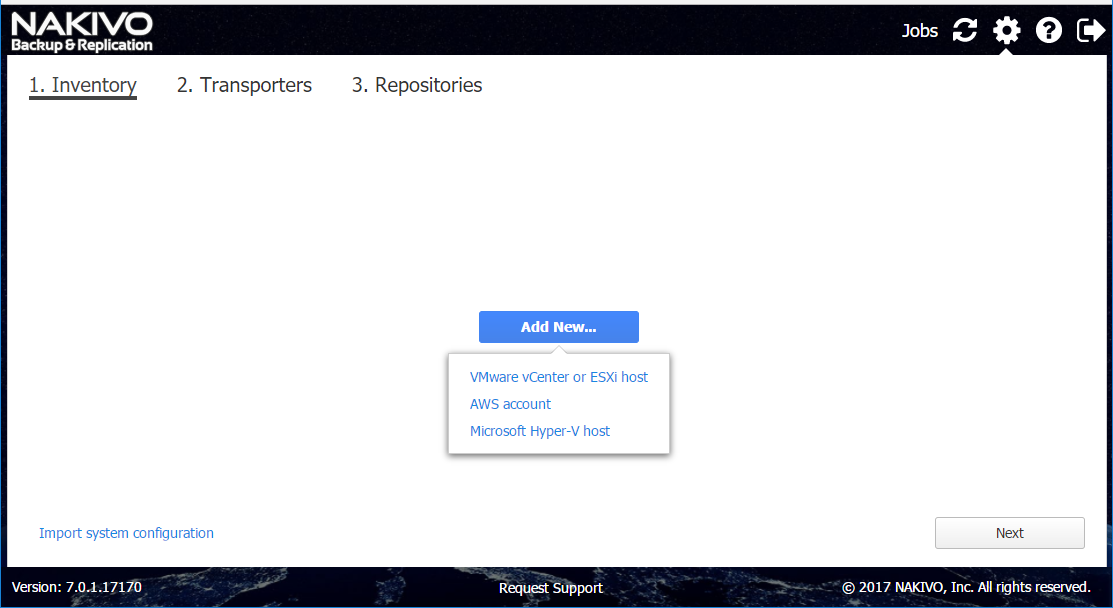 Nakivo VM Backup on QNAP NAS – www get-cmd com