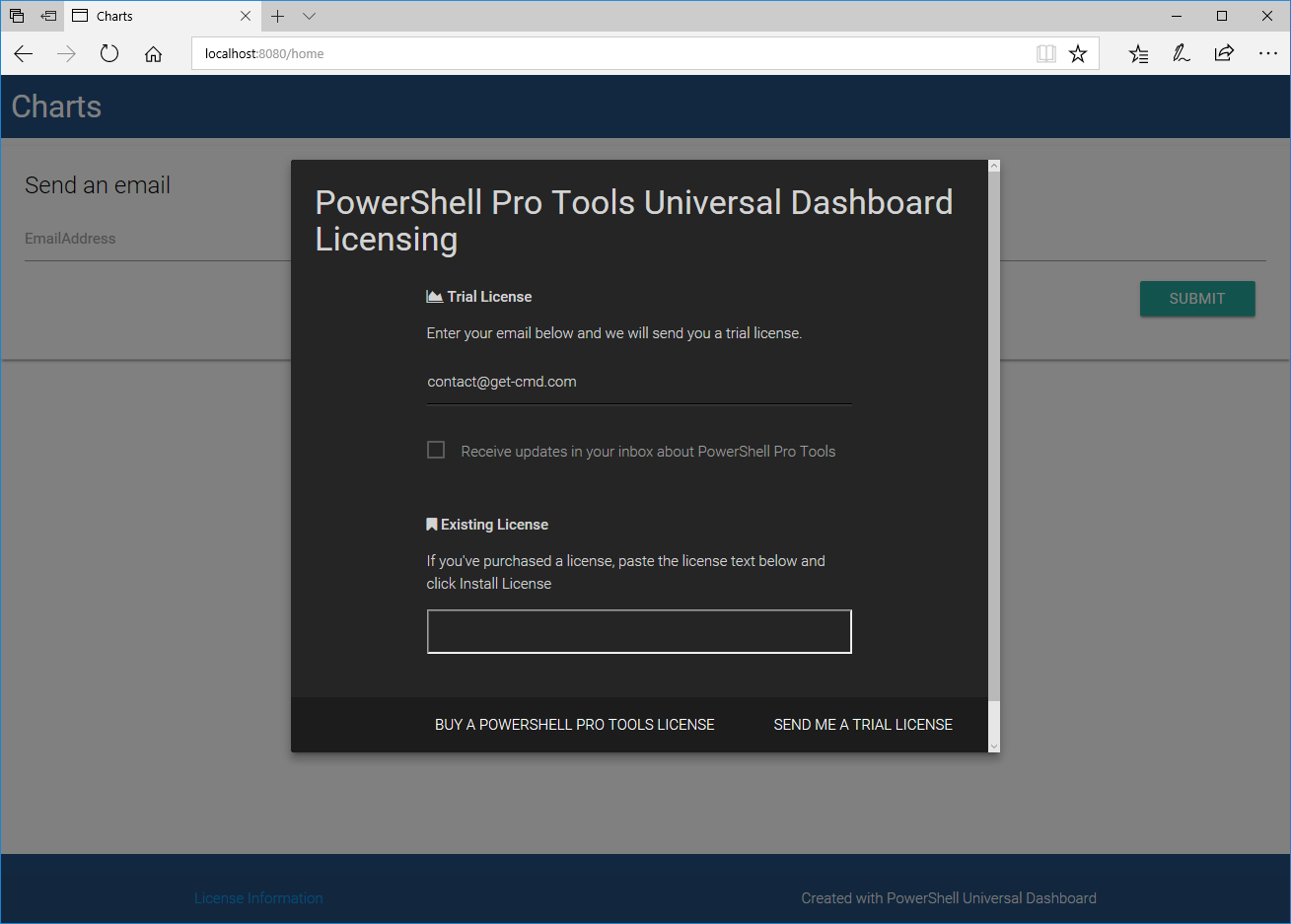 Introducing PowerShell Universal Dashboard – www get-cmd com