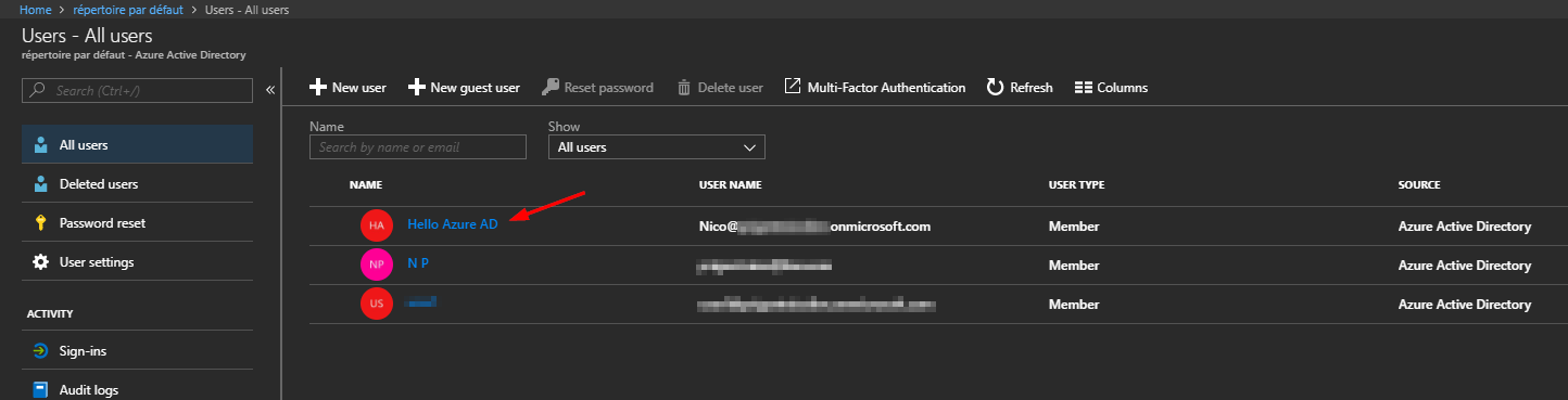 Managing Azure AD User with Azure Active Directory PowerShell for