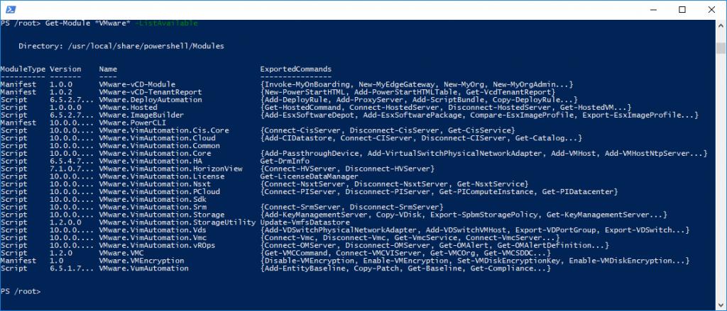 Introducing PowerCLI Docker Image – www get-cmd com