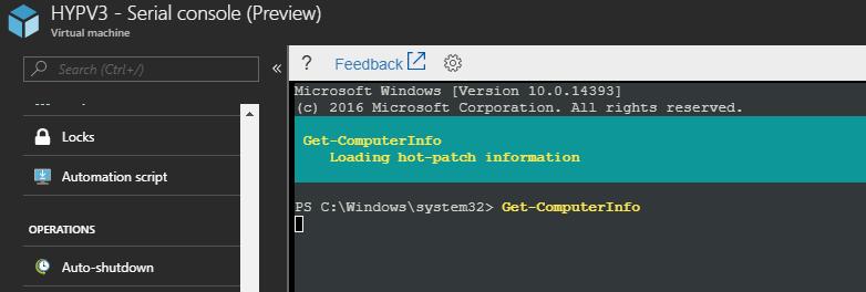 Configuring Azure VM Serial Console (Preview) – www get-cmd com