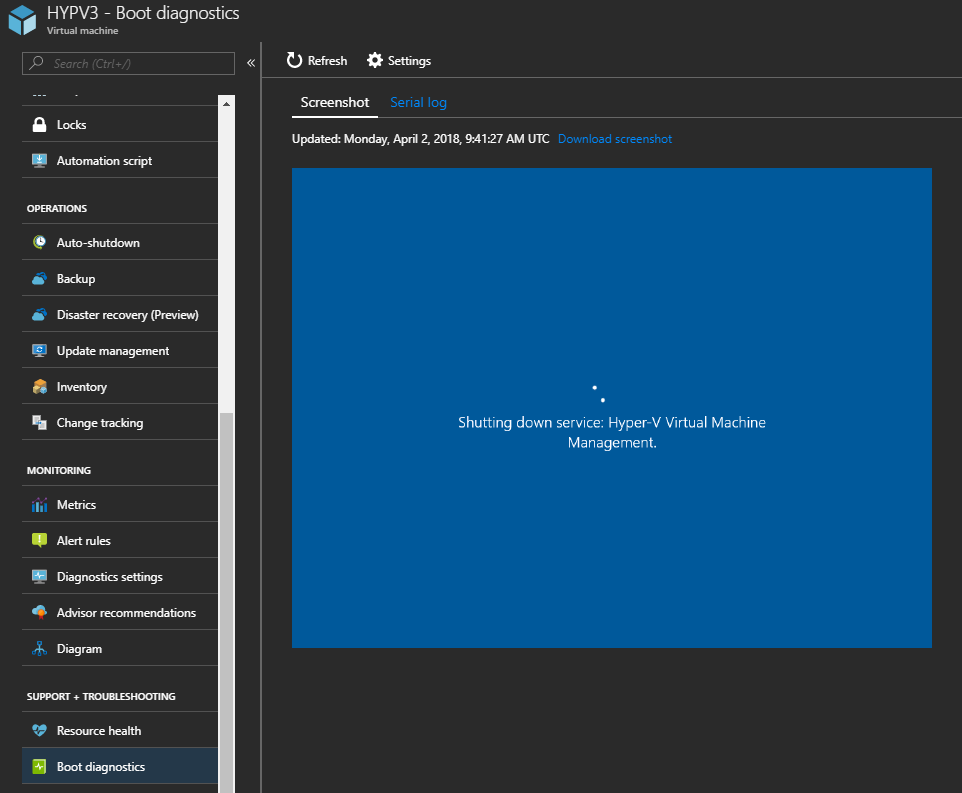 Configuring Azure VM Serial Console (Preview) – www get-cmd com