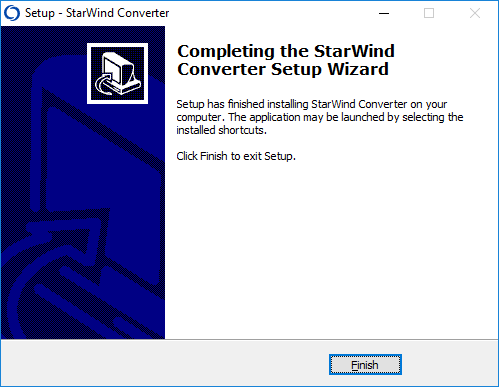 StarWind V2V Converter – How to Convert VHD to VMDK Disk