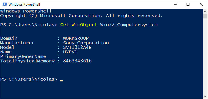 PowerShell: Getting Computer Name and Model – www get-cmd com